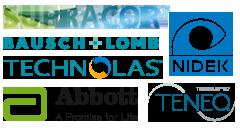 Partenaires, Supracor, Bausch + Lomb, Technolas, Abbott, Teneo, Nidek