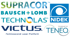 Partenaires, Supracor, Bausch + Lomb, Technolas, Victus 3.3, Teneo, Nidek